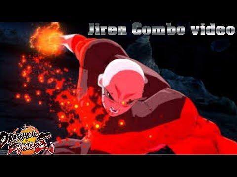 Dragon Ball Fighters: Jiren Combos With Vegeta assist/jiren combo video