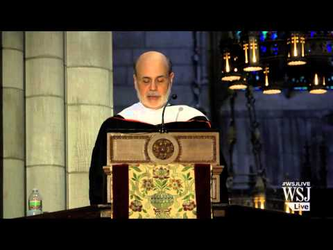 Ben Bernanke's Sage Advice to New Grads
