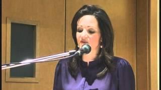 Mrs. Michelle Muscat addressing Ahmadiyya Seminar for Women
