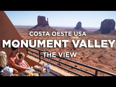 Monument Valley, amanecer hotel The View. Costa Oeste USA