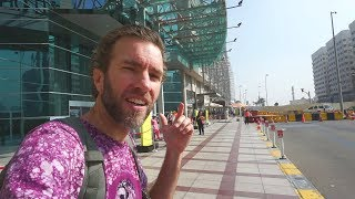 Getting Lost in Abu Dhabi, United Arab Emirates