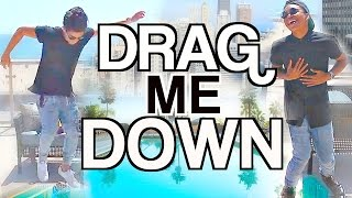 Drag Me Down by One Direction | Cover by Alex Aiono and Josh Levi ft. Meg Deangelis
