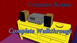 Escape The Crimson Room  Complete Walkthrough