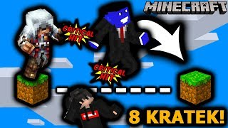 WSPÓŁPRACUJĄC DA SIĘ PRZESKOCZYĆ 8 KRATEK! - Minecraft Parkour