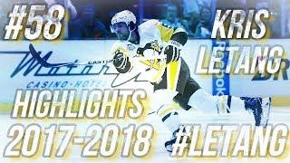 KRIS LETANG HIGHLIGHTS 17-18 [HD]