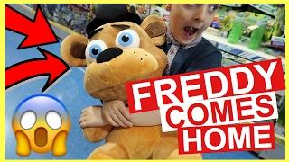 FREDDY FAZEBEAR COMES HOME    BIRTHDAY SHOPPING    DAILY VLOG    FAMILY VLOGGING CHANNEL