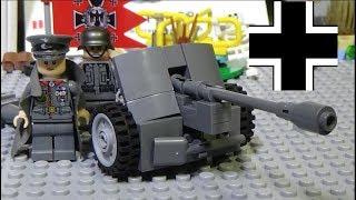 ЛЕГО Военная Академия #33, Вторая Мировая Война, немецкая пушка Pak 38