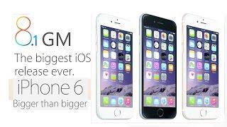 iOS 8.1 GM Экспресс обзор. Тормозит или нет iOS 8.1 GM на iPhone 6 ?(, 2014-10-20T22:11:18.000Z)