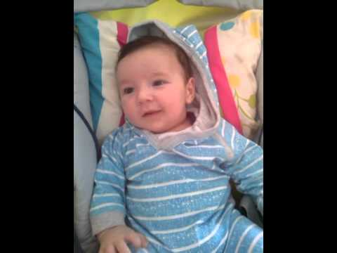 2 Months Old Baby Saying I Love You Youtube