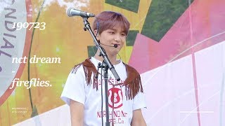 190723 WORLD SCOUT JAMBOREE NCT DREAM - Fireflies 해찬(HAECHAN focus) 4K 직캠