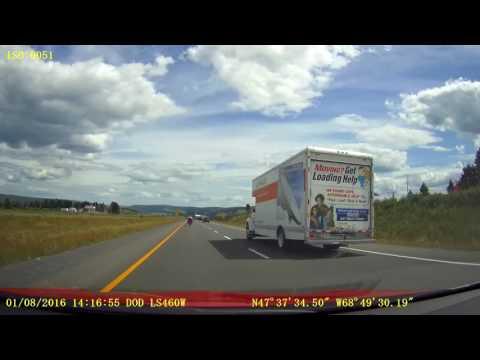 Quebec Hwy 85sb / R 185sb - KM 49 to KM 0 (New Brunswick Border)