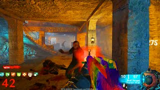 """NACHT DER UNTOTEN"" EASTER EGG REMAKE! (NEW CUSTOM ZOMBIES MAP GAMEPLAY!)"