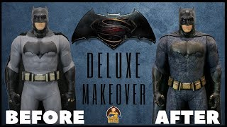 Jakks Pacific Batman Deluxe Makeover- Chris' Custom Collectables!