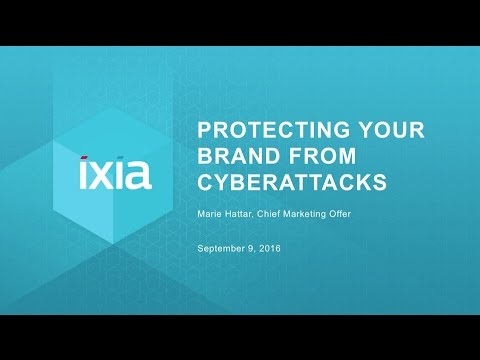 Protecting your Brand from Cyberattacks, Marie Hattar, CMO,