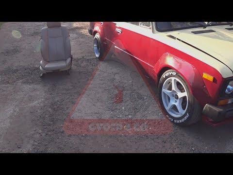 Сиденья от БМВ в Жигули , ВАЗ с сиденьями от БМВ , установка передних сидений в жигу от бмв Е 63