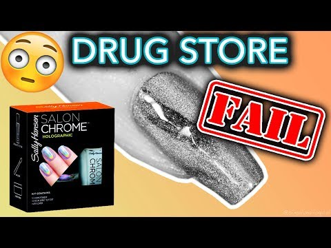 Thumbnail: Drug Store Nail Powders FAIL (what the Sally Hansen?!)
