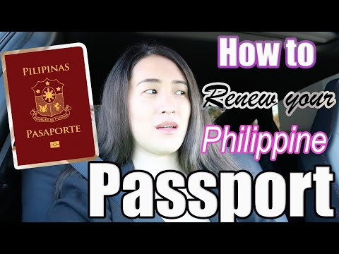 HOW TO RENEW YOUR PHILIPPINE PASSPORT IN SAN FRANCISCO
