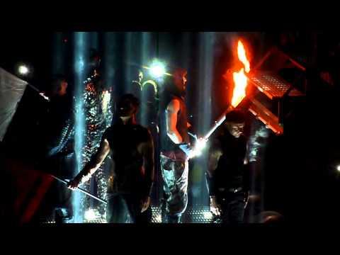 Rammstein Intro live  @Capital FM Arena Nottingham 02/03/ 2012