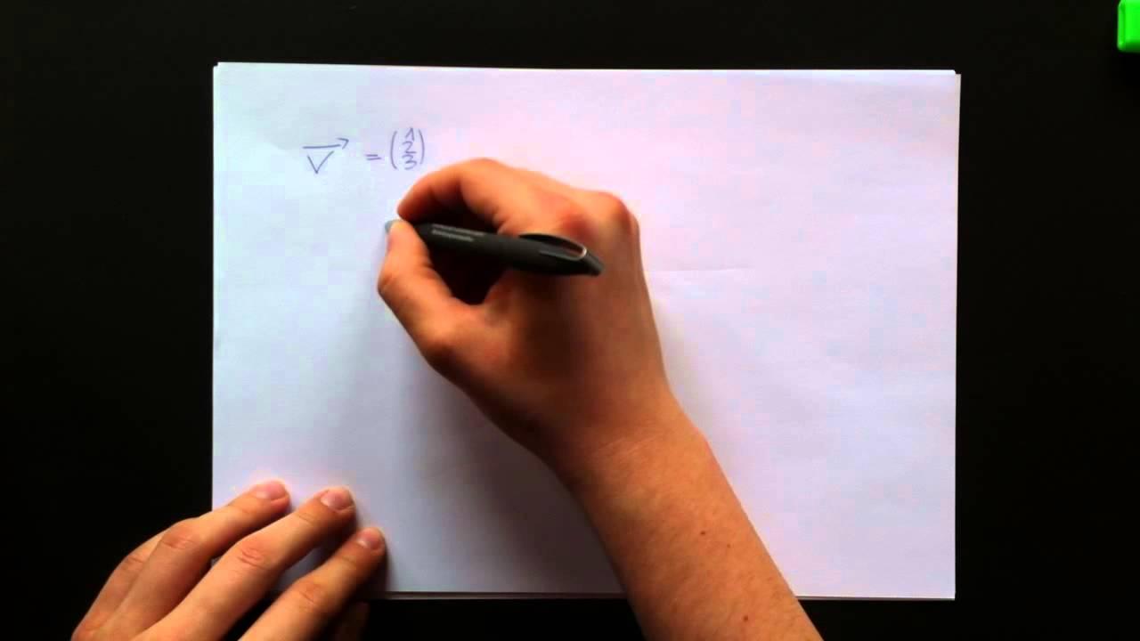l nge eines vektors berechnen betrag eines vektors errechnen youtube. Black Bedroom Furniture Sets. Home Design Ideas
