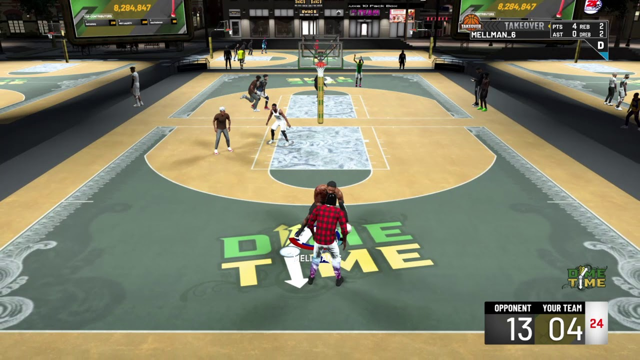 NBA 2K20 one of my great comebacks