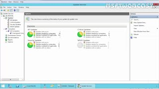 Step by Step : Installing & Configuring WSUS in Server 2012 R2