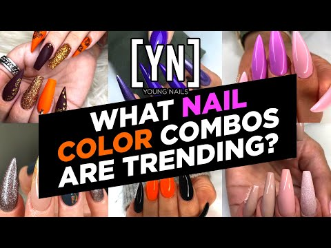 5 Winning Nail Color Combinations