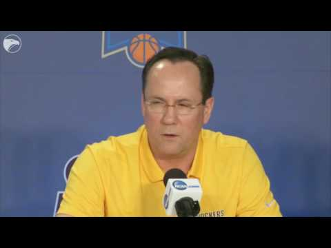 Gregg Marshall answers question about Dayton and job openings