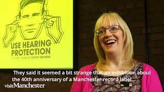 Use Hearing Protection at Science and Industry Museum, Manchester - the early Factory records story