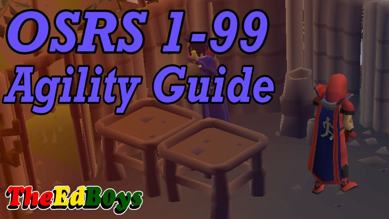OSRS 1 99 Agility Guide