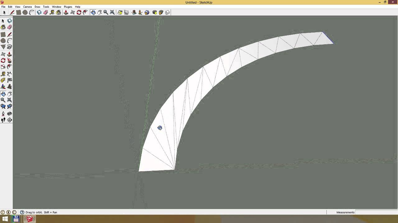 How to make sloped curves in Sketchup for a Race Track / Mario Kart Wii  Custom Track