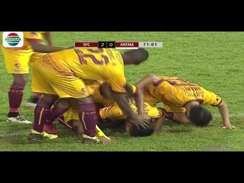 SRIWIJAYA FC VS AREMA (3-1) - Higlight Gol   Piala Presiden 2018