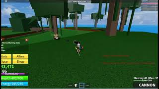 Roblox I Try Weight 2 boss King Monkeys and buggy I THD I Blox Piece