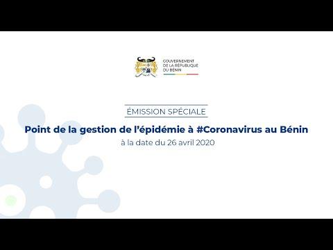 Emission spéciale: Point de la gestion de l'épidémie à #Coronavirus au Bénin