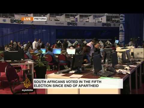 South Africa's ruling ANC takes election lead