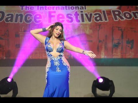 Aziza Cairo 2015 in Rome, belly dance