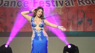 Aziza Cairo 2015 in Rome, belly dance