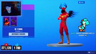 FORTNITE BOUTIQUE of AUGUST 30, 2019! NEW CHATASTROPHE SKIN!