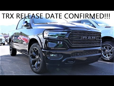 Taking Delivery Of The 2020 Limited Black Appearance Group + TRX Update!