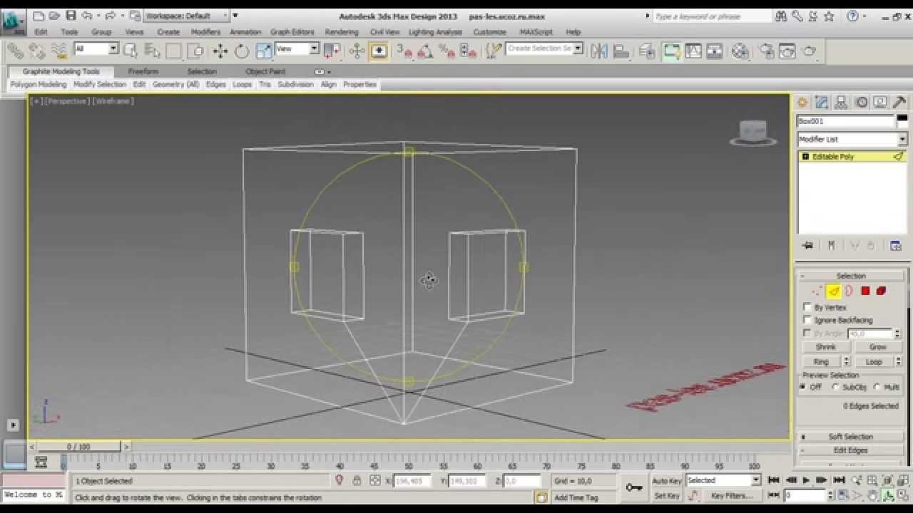 3ds max как соединить точки