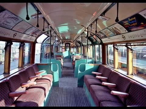 Inside The 1938 Tube Stock Train