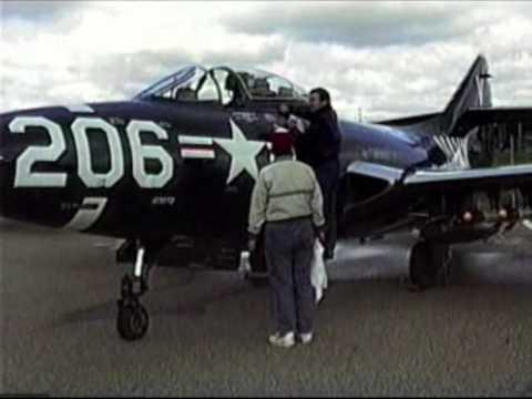 F9F Panther at 1993 Kalamazoo Airshow