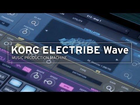 KORG ELECTRIBE Wave | MUSIC PRODUCTION MACHINE