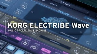 KORG ELECTRIBE Wave | MUSIC PRODUCTION MACHINE