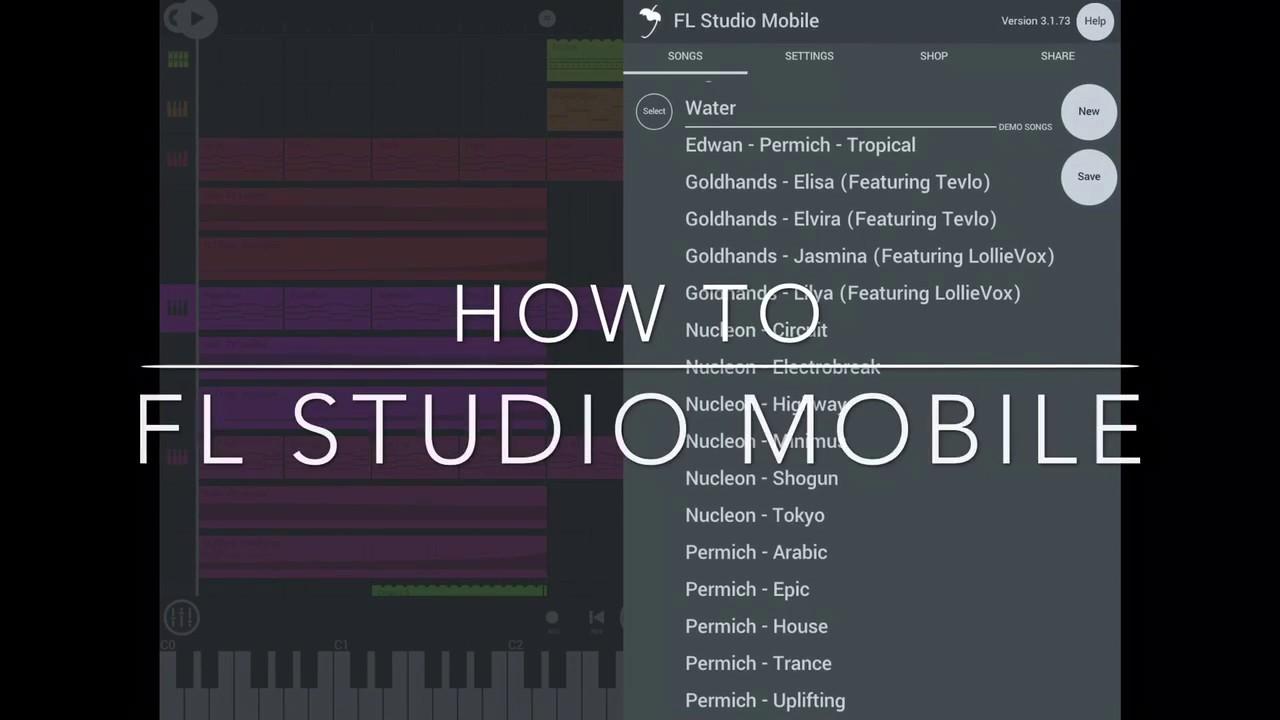 fl studio mobile 8 bit