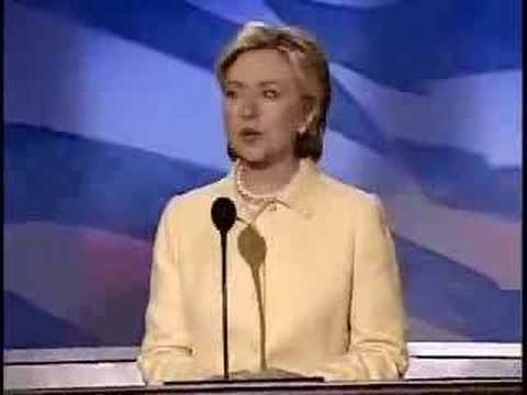 2004 DemConvention Speeches: Hillary Clinton