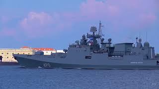День ВМФ 2018 Генеральная репетиция Севастополь