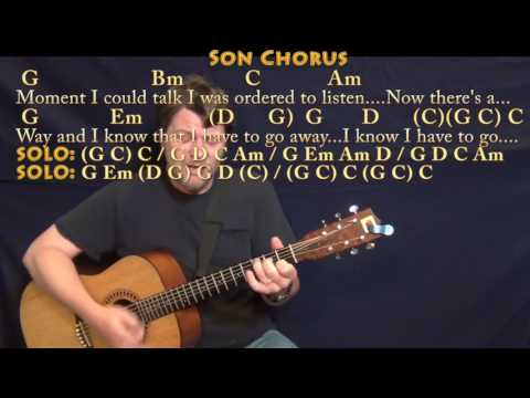 Father and Son (Cat Stevens) Strum Guitar Cover Lesson with Chords/Lyrics