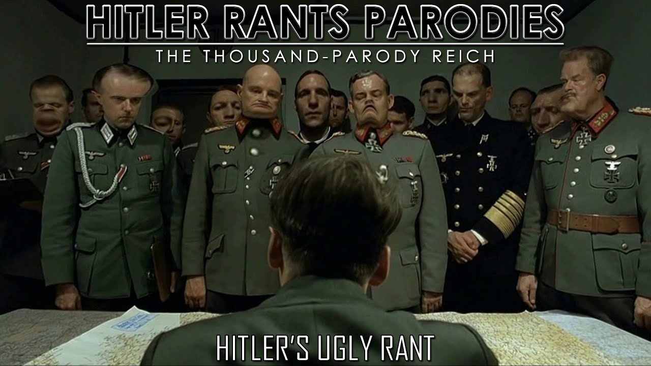 Hitler's ugly rant