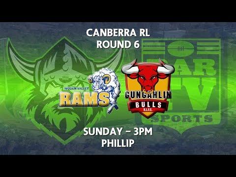 2018 Canberra RL 1st Grade Round 6 - Woden Valley Rams v Gungahlin Bulls