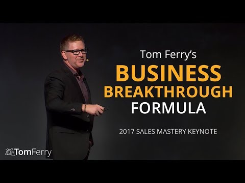 Tom Ferry's Formula for a Successful Business Breakthrough |
